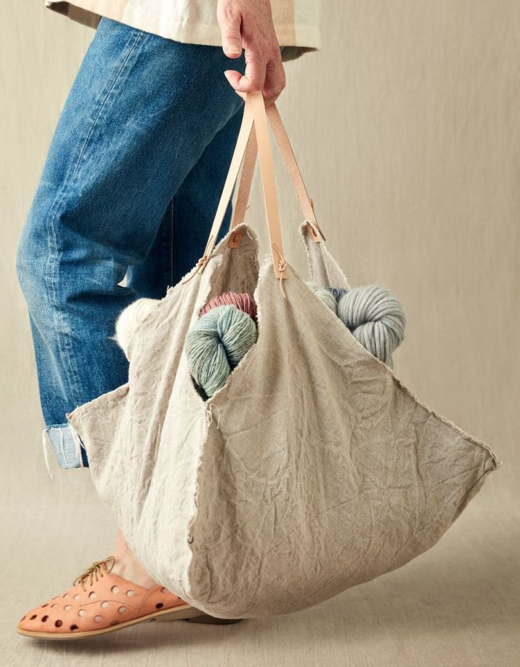 CocoKnits Four Corner Bag - Medium