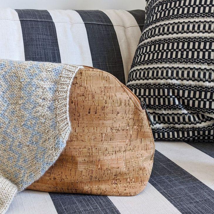 Thread & Maple Cork Project Bag
