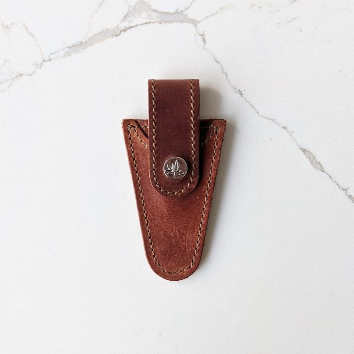 Thread & Maple Leather Scissors Sheath